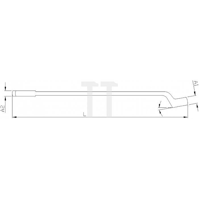 Projahn Gabelringschlüssel DIN 3113B 17mm 25172