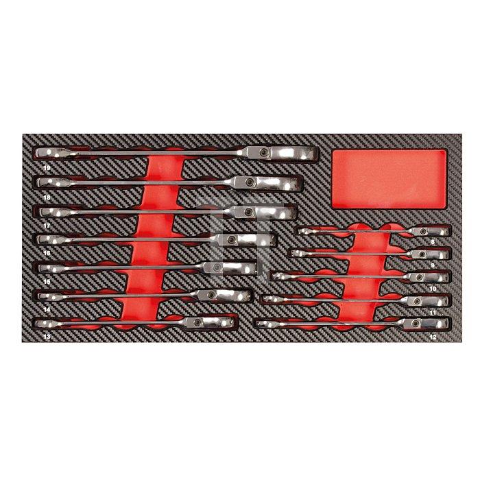 Projahn GearTech Schlüssel Einlage Zoll flexibel 12-tlg. 5999-052