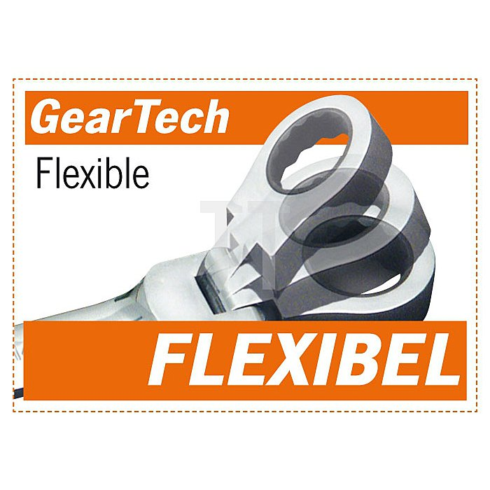 Projahn GearTech Schlüssel flexibel 18mm 3418F