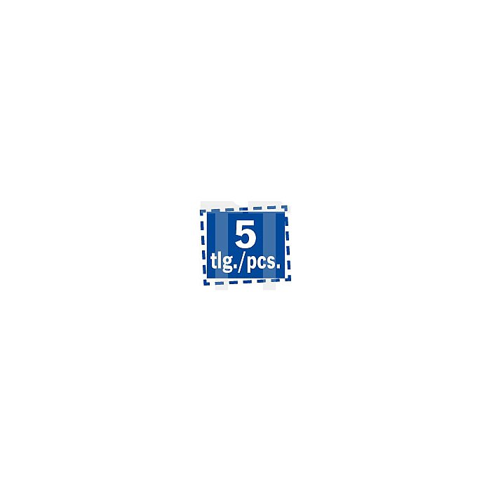 Projahn Hammerbohrer 4 PLUS 65x210mm 5er Pack 8306521005