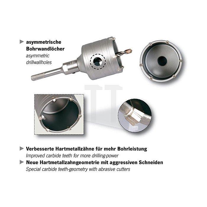 Projahn Hammerbohrkrone 80mm für leichte Hämmer 81580