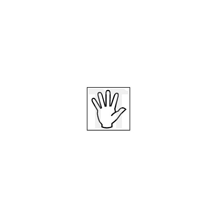 Projahn Handgewindebohrer HSS-G DIN 2181 Mf 6x075mm Vorschneider 935060751