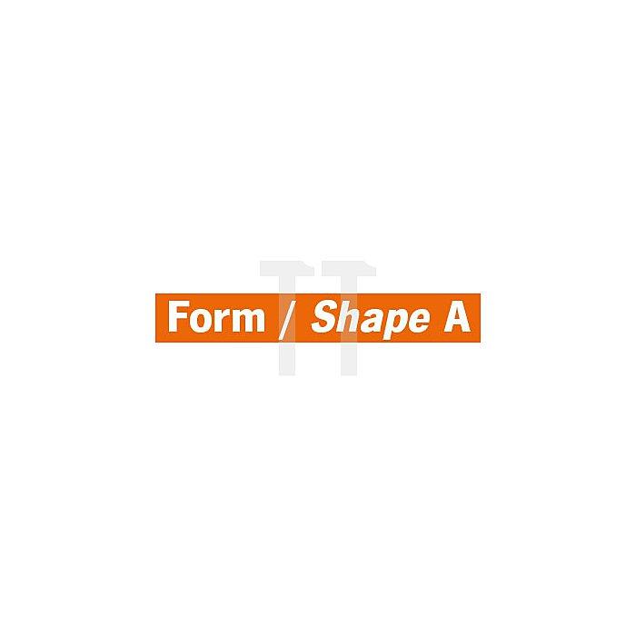 Projahn Hartmetallfräser Form A Zylinder ohne Stirnverzahnung d1 9.6mm Schaftdurchmesser 6.0mm Kreuzverzahnung 700166096