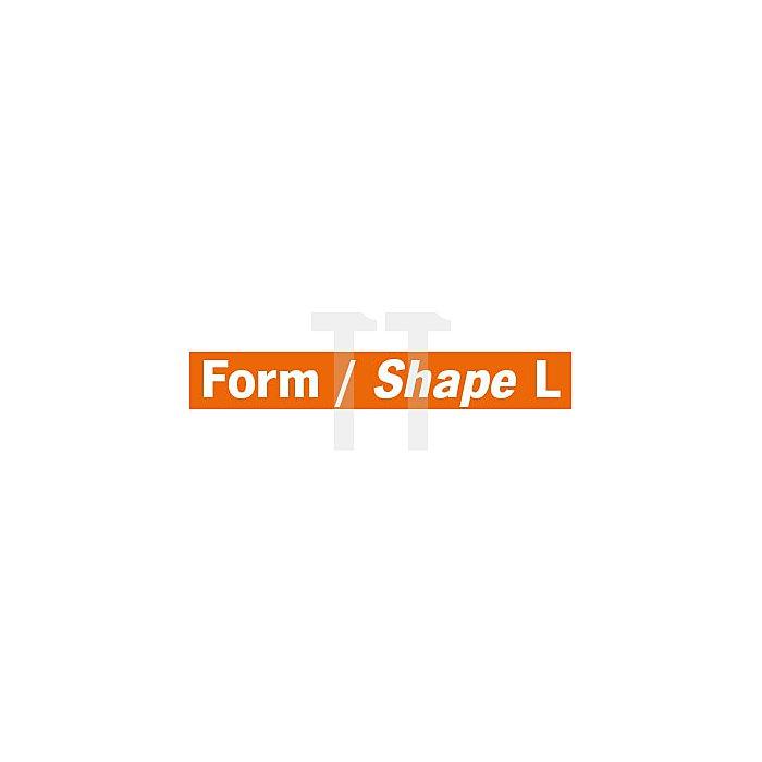 Projahn Hartmetallfräser Form LRundkegel 14° konisch d1 9.6mm Schaft-Ø 6.0mm Kreuzverzahnung 701266096