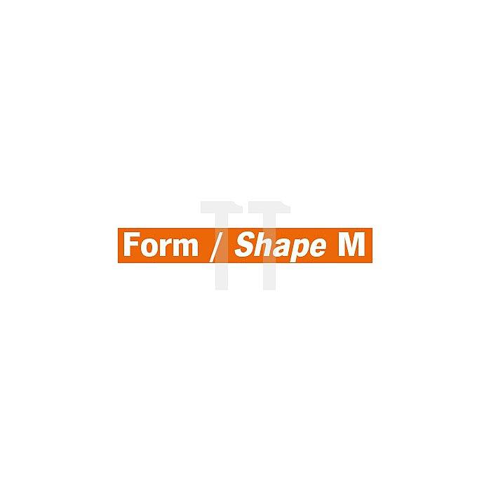 Projahn Hartmetallfräser Formm Spitzkegel 22° d1 8.0mm Schaft-Ø 6.0mm Kreuzverzahnung 701366080
