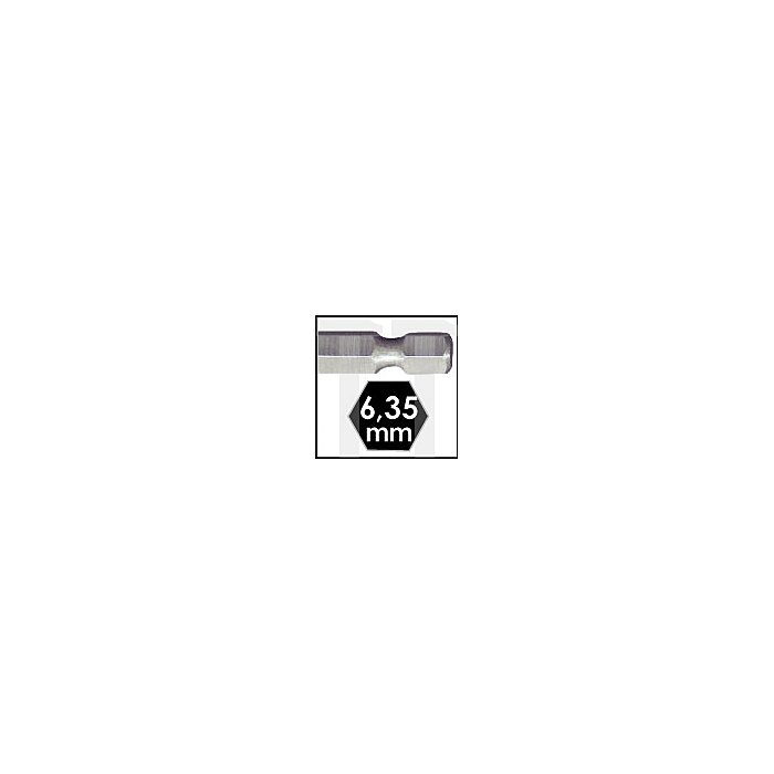 Projahn Holzspiralbohrer-Satz 6-kant Schaft E6.3 5-tlg. 3 4 5 6 8mm 19399