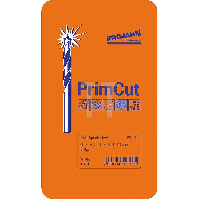 Projahn Holzspiralbohrer-Satz HSS M2 PrimCut 8-tlg. 19701