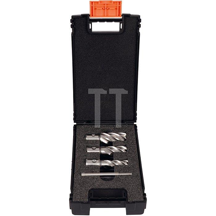 Projahn Kernbohrer mit QuickIN in MAMBO-BOX 4-tlg. Ø 14/18/22mm 1 Führungsstift 60037