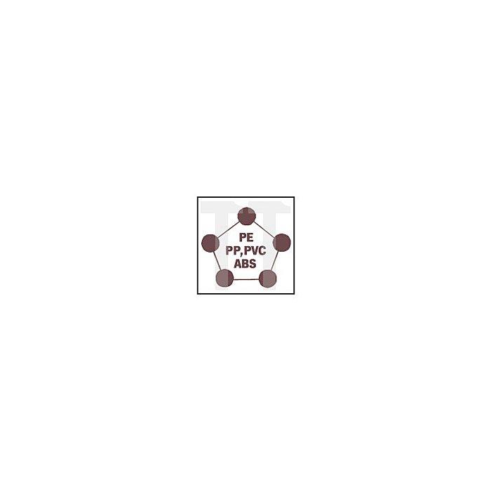 Projahn Koffer mit HM TCT Multilochsägen Zoll Installateur Zoll je 1 Stück: 19-22-27-32-35-40-51-64 + 2x Quick Lock Adapter + 2 x Zentrierbohrer + Inbus 60593
