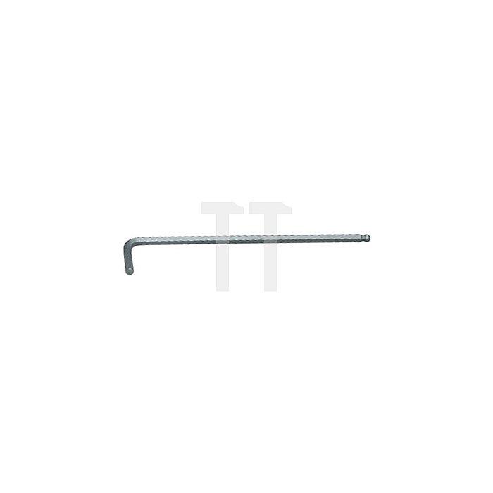 Projahn Kugelkopf-Winkelstiftschlüssel Innen-6-kant 2mm 3602-2