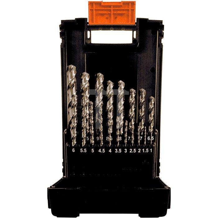 Projahn Kunststoff Kassette DIN 338 Typ SN 19-tlg. 1-10mm/05 stgd. 60021