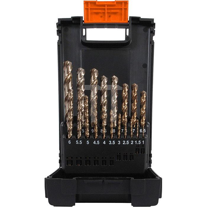 Projahn Kunststoff Kassette DIN 338 Typ SN 25-tlg. 1-13mm/05 stgd. 60022