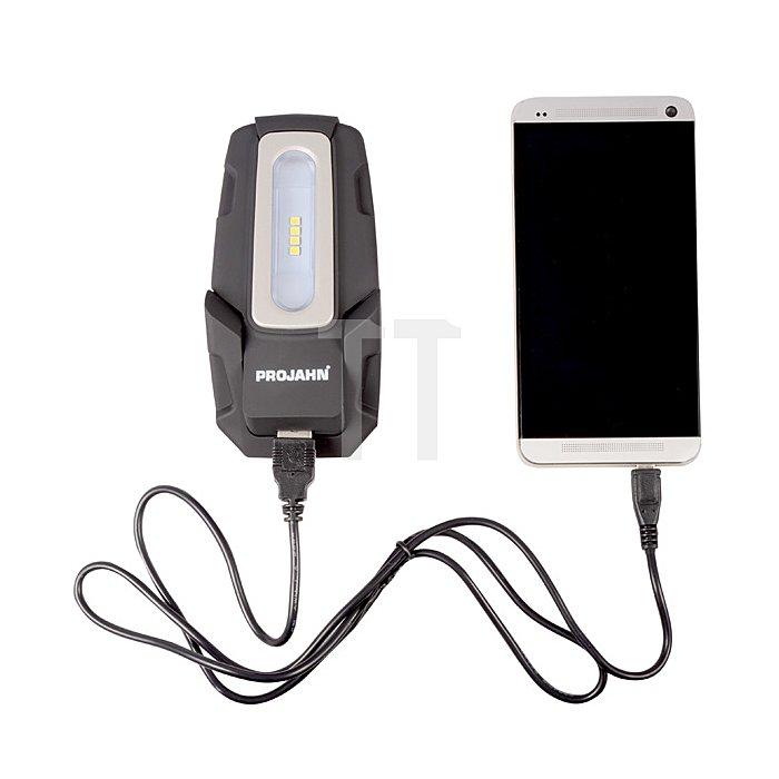 Projahn LED Hochleistungs-Handarbeitslampe mit Powerbank PJ-AL120 Wiederaufladbar 398250