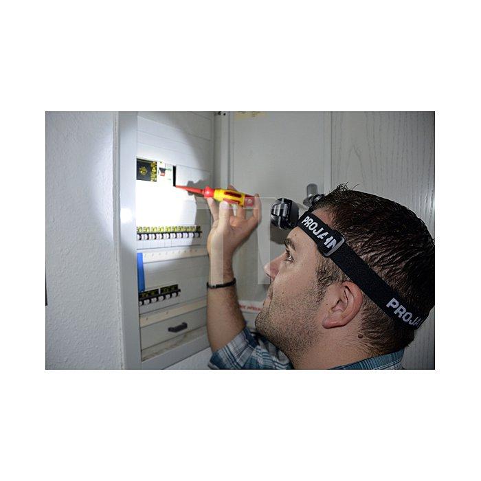 Projahn LED Hochleistungs-Stirnleuchte PJ100S - 3AAA 398230
