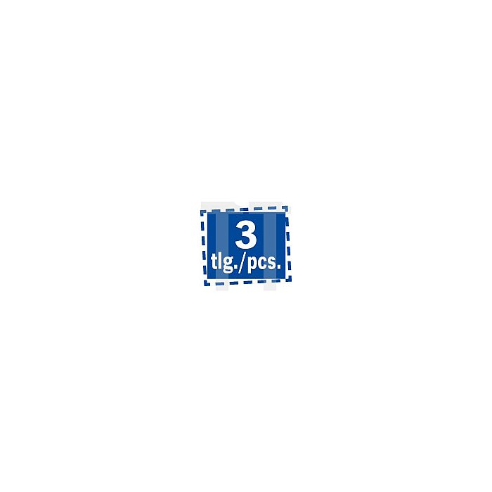 SDS-Plus Meißelsatz kurz 4-tlg. in Kunststoffbox 841401