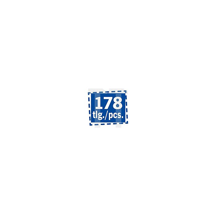 Projahn PROLine Werkzeugkoffer 178-tlg. 9995