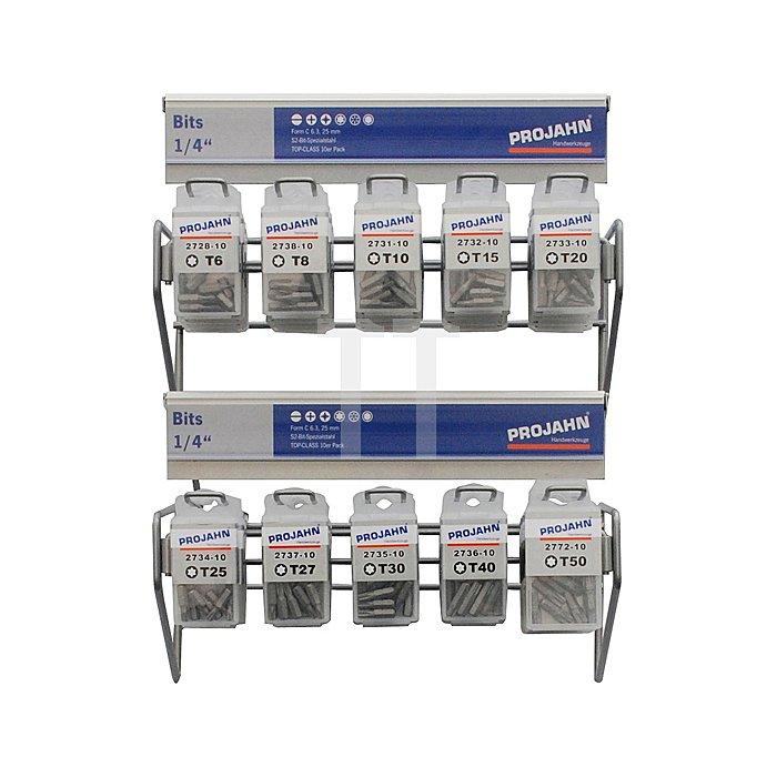 Projahn Rack Bit TX 45-tlg. 11812-22
