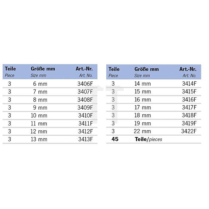 Projahn Rack GearTech Schlüssel flexibel45-tlg. 11812-52