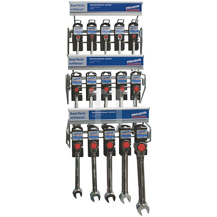 Projahn Rack GearTech Schlüssel umschaltbar45-tlg. 11812-51