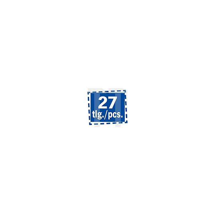 Projahn Rack Schraubendreher TX 27-tlg. 11812-34