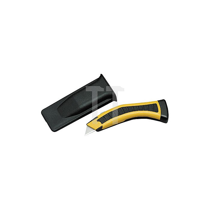 Projahn Trapezmesser mit einziehbarer Klinge + Schutzköcher 3301