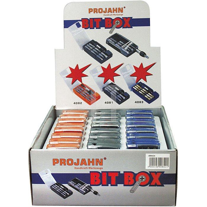 Projahn Verkaufsdisplay 408224 24 x TX Bit-Box 10-tlg. 4082