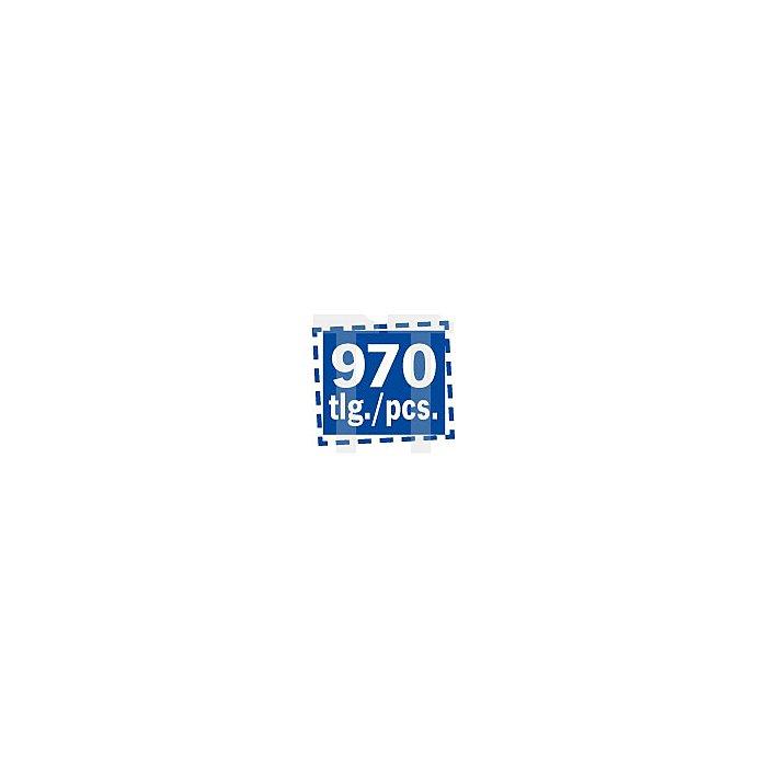 Projahn Verkaufsschrank Spiralbohrer HSS-Co SPEED 970-tlg. 11026