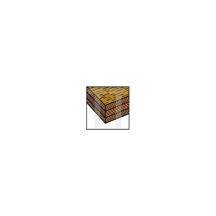 Projahn Viertelstabfräser mit Kugellager D 287 mm L465mm L2 145mm 33204287