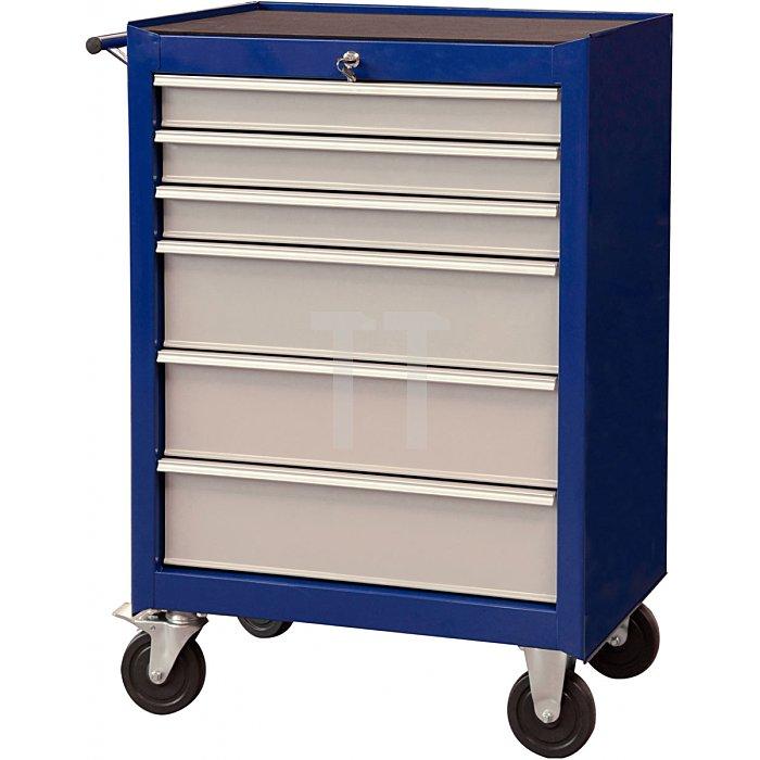 Projahn Werkstattwagen Eco Blue mit 6 Schubfächern 4901-50