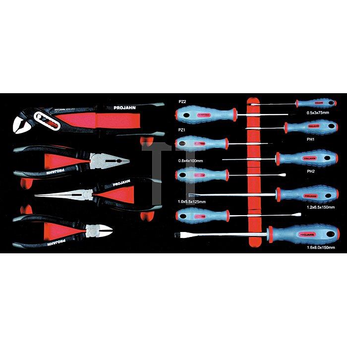 Projahn Werkzeugkofferl COMPACT XL mit 156 Werkzeugen Super Blue 5902-502
