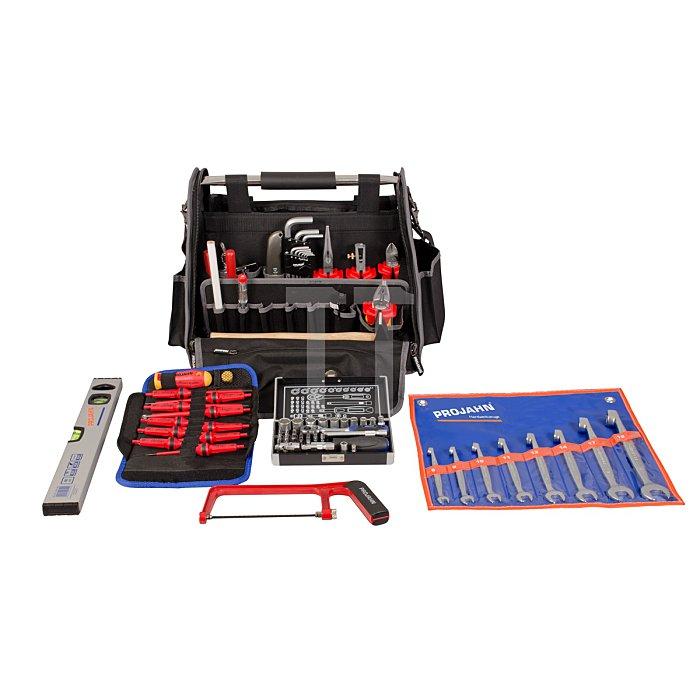 Projahn Werkzeugtasche 84-teilig mit Elektro-Bestückung 9972