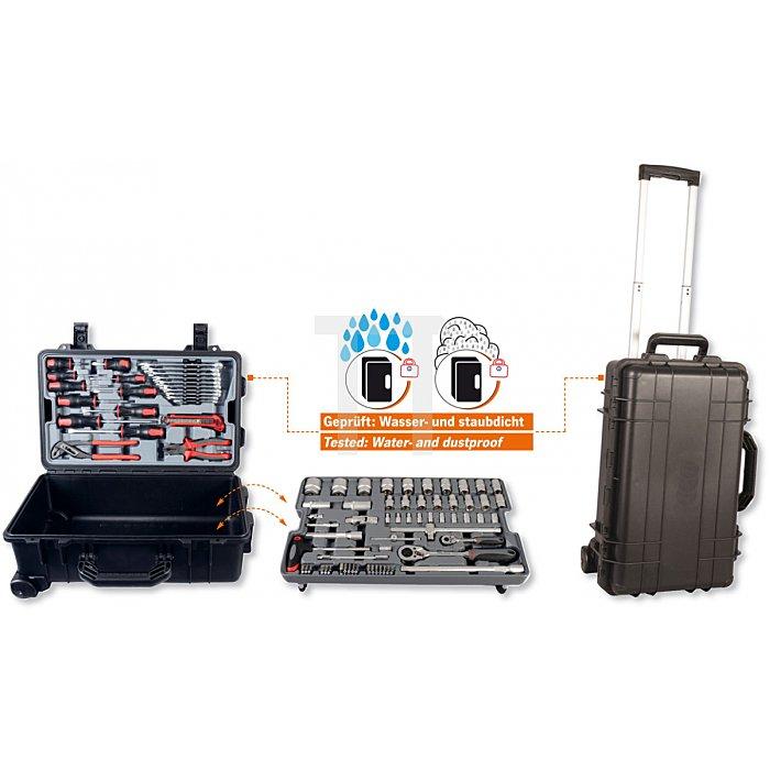 Projahn Werkzeugtrolley-Set 83-tlg. wasserdicht & staubdicht 4964-01