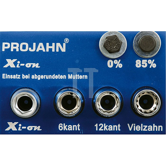 Projahn Xi-on 1/4 Zoll Steckschlüssel-Satz 18-tlg. 4101