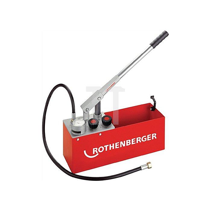 Prüfpumpe RP 50 S INOX 0-60bar 45ml/Hub Rothenberger