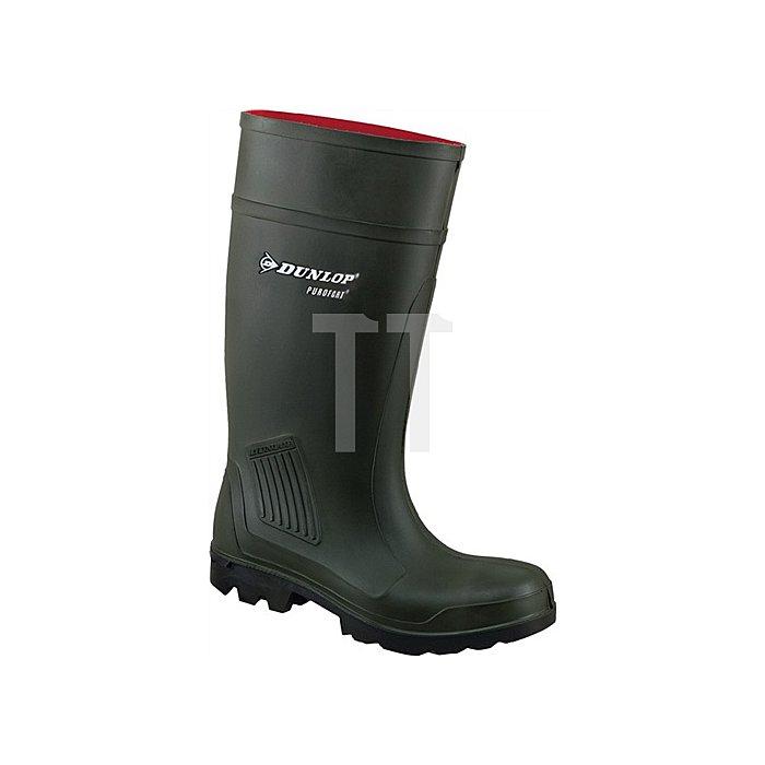 PU-Stiefel Purofort Professional S5 CI Gr.47 dunkelgrün Dunlop 100% wasserdicht