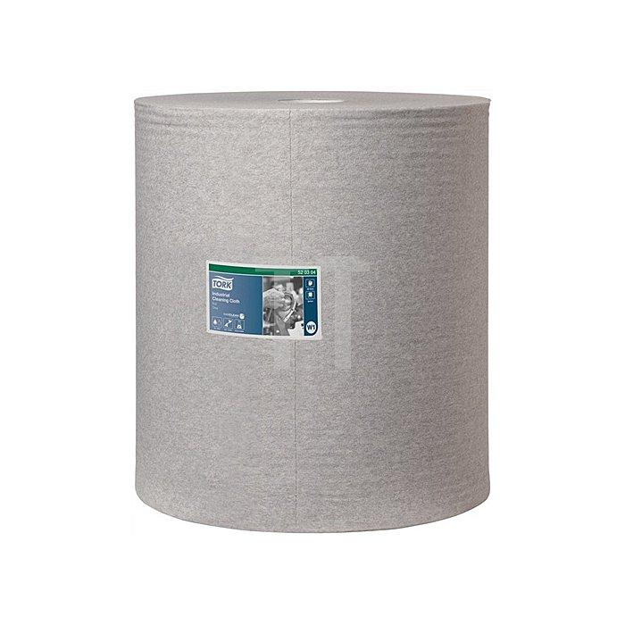 Putztuch Tork Industrie Reingungst. grau 1lagig L.380xB.430mm 950Abrisse 1RL/VE