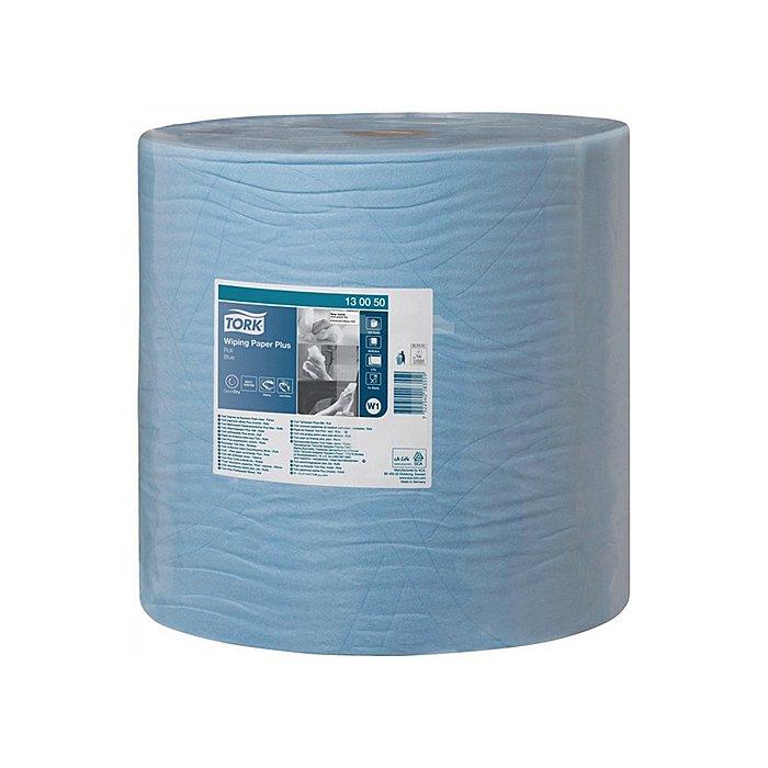 Putztuch Tork starkes Mehrzwecktuch blau 2lagig L.340xB.370mm 1500Abrisse 1RL/VE