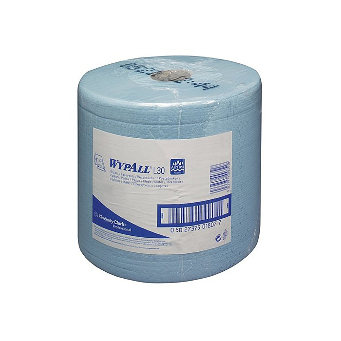 Putztuch Wypall L30-7346 blau 2lagig L.380xB.235mm perforiert 1000Abrisse