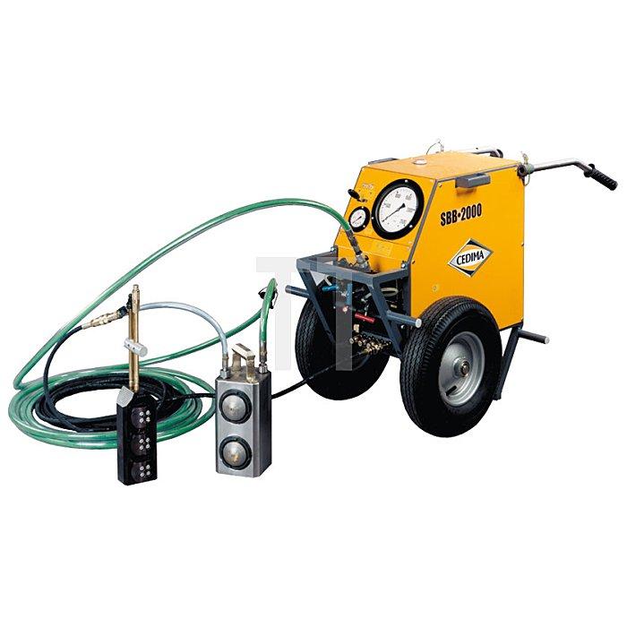 PZ-350 Presszylinder, Presskraft 260t