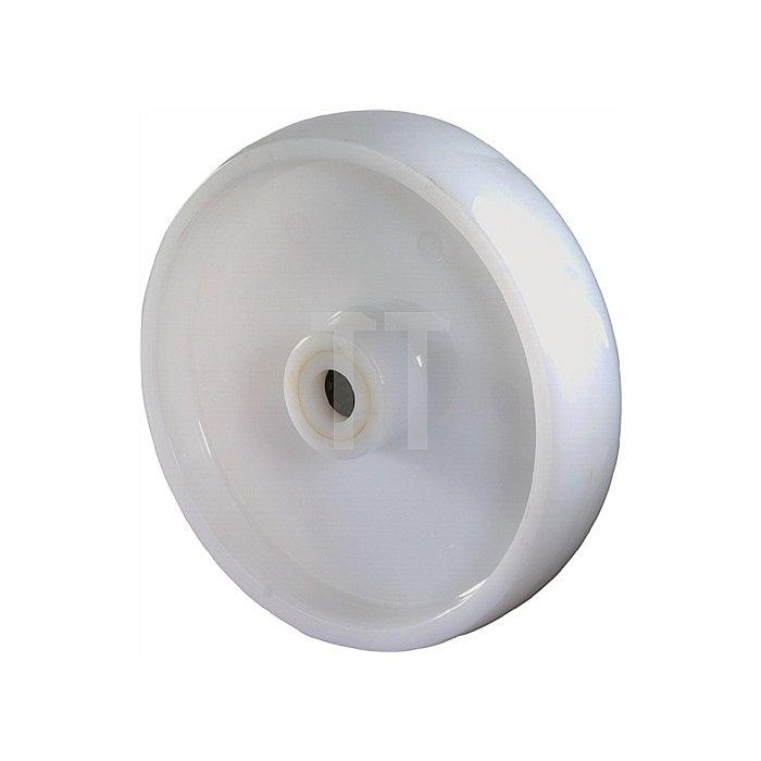 Rad zu B10 D.200mm Tragfähigkeit 1000kg Kunststoffrad naturfarben Naben-L.58mm