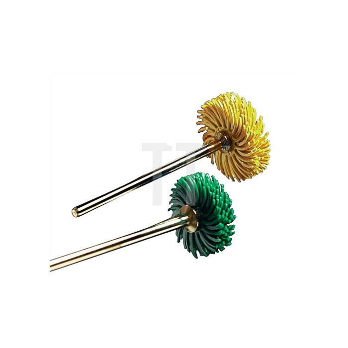 Radialbürstenscheibe Bristle Brush K.36 D.25mm 3M m.Spannschaft