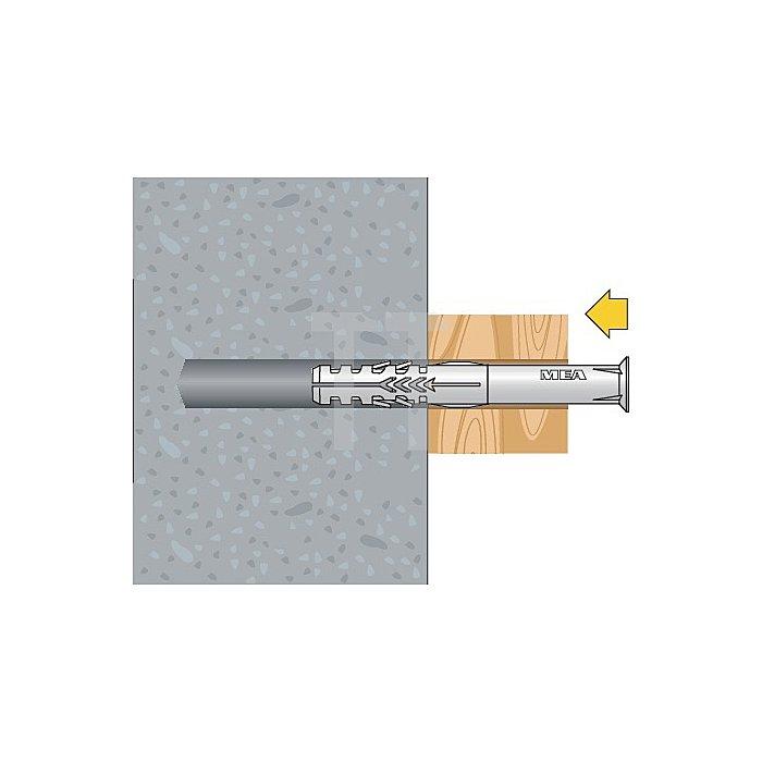 Rahmendübel R 10-135 Toss Senkkopf Torx Schraube gelb verzinkt apolo MEA