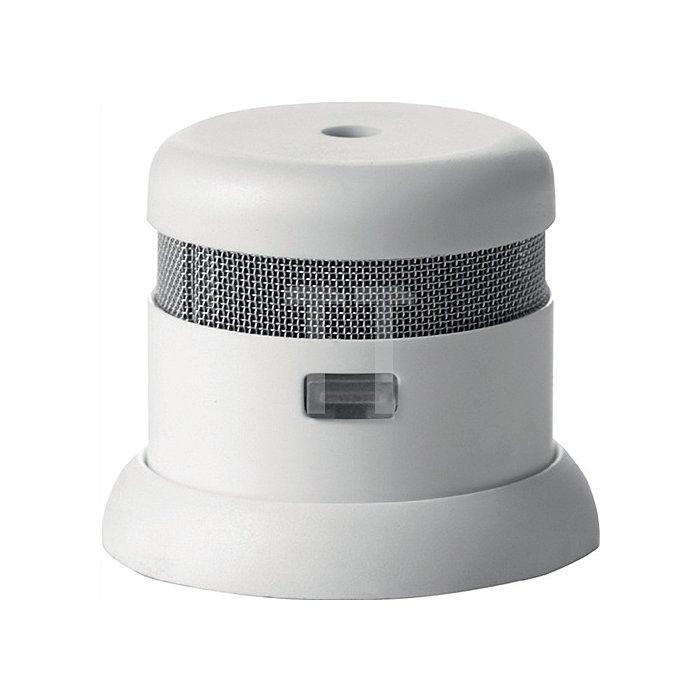 Rauchmelder Invisible photoelektrisch 85 dB D.4cm weiss