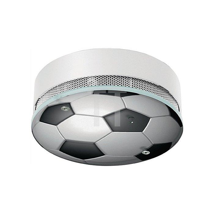 Rauchwarnmelder RWM 3F Design Fussball funkvernetzbar weiss