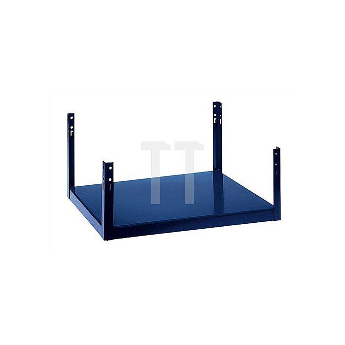 Regalelement Fussbodenteil LOGS 10 H260xB540xT390mm Blau RAL5022
