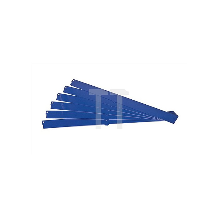 Regalelement Steckteil für Logs 20 LOGS 310 H35xT403mm Blau RAL 5022