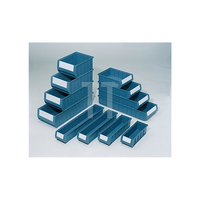 Regalkasten PP blau L600xB234xH90mm