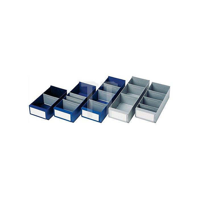 Regallagerbox blau L.400xB.160xH.100mm