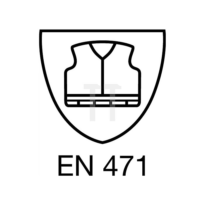 Regenbundhose Gr.L, gelb EN471 Kl.2 / EN343