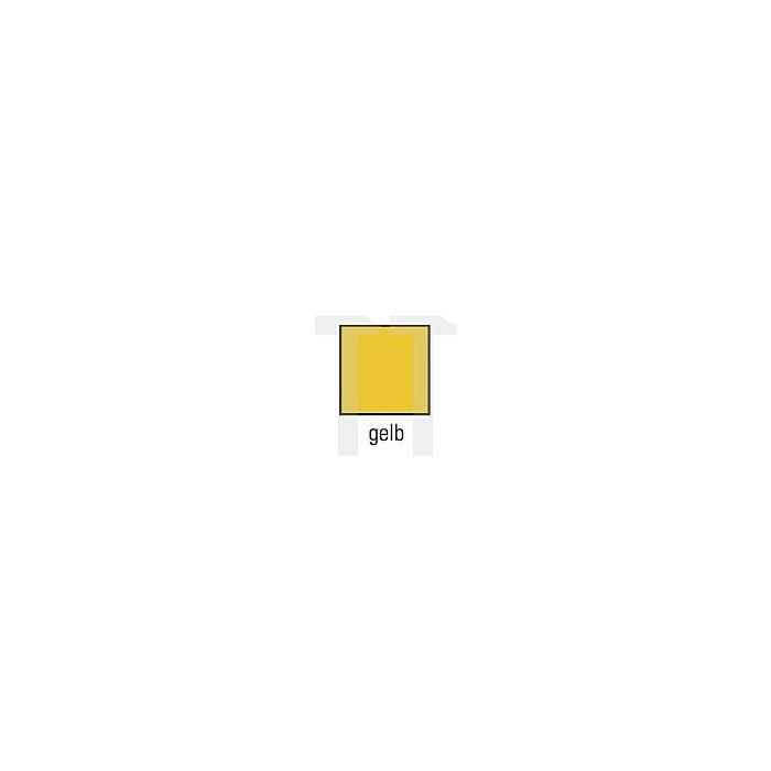 Regenbundhose Gr.L gelb PU-Stretch Reißverschl. EN343 Kl.2 reißfest